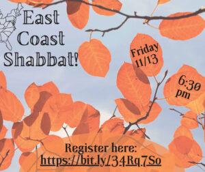 East Coast Shabbat
