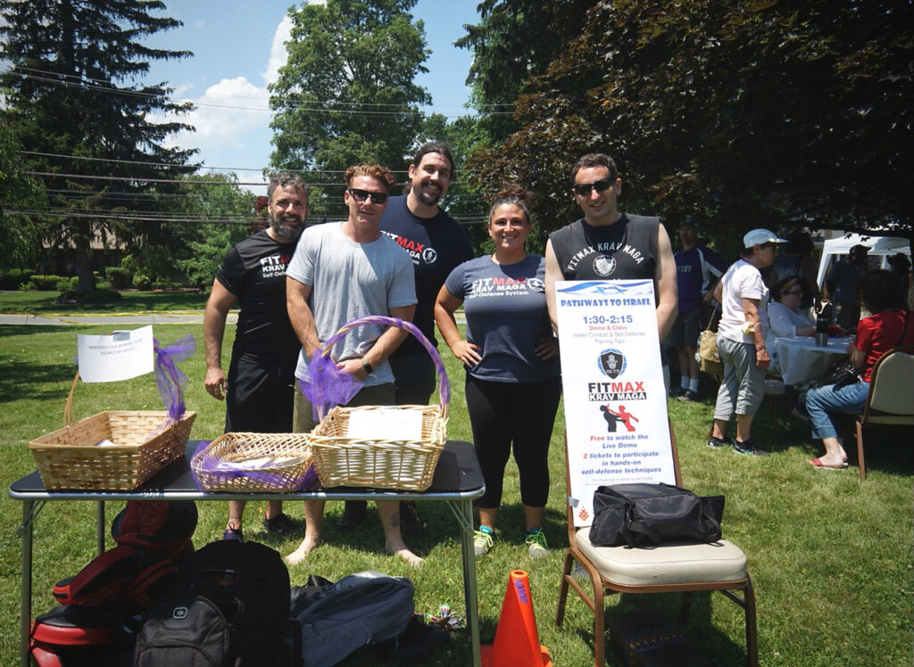 Pathways to Israel Event fitness vendor