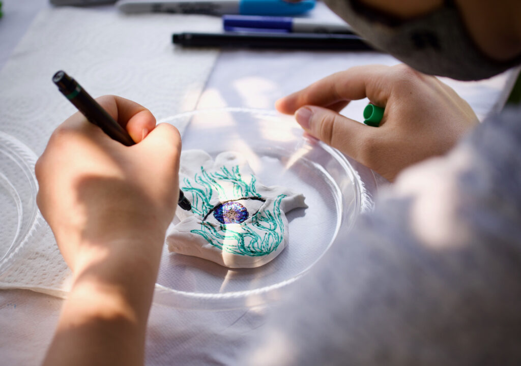 Pathways to Israel Event crafts